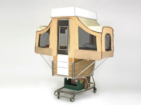 guerrilla housing camper cart