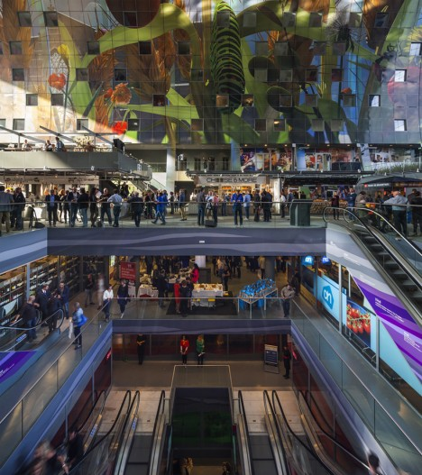 market hall inside levels