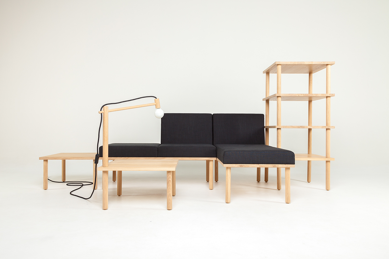 Modular Minimalism 5 Part Kit To Create Infinite Furniture Urbanist