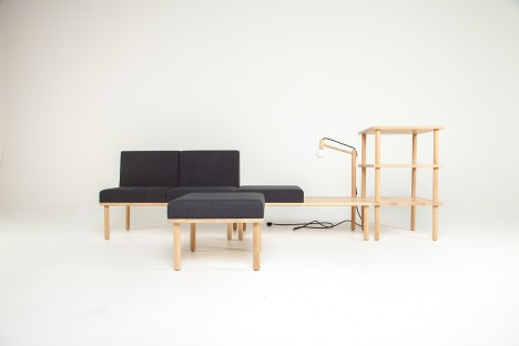 modular minimalist furniture system