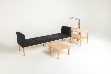 modular playful furniture arrangements