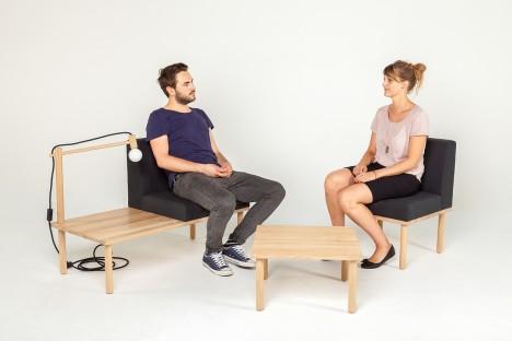 modular used as seating
