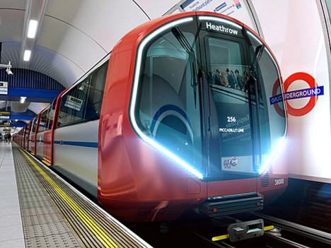 new tube train car