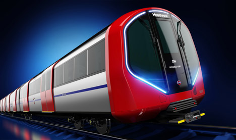 new tube train design