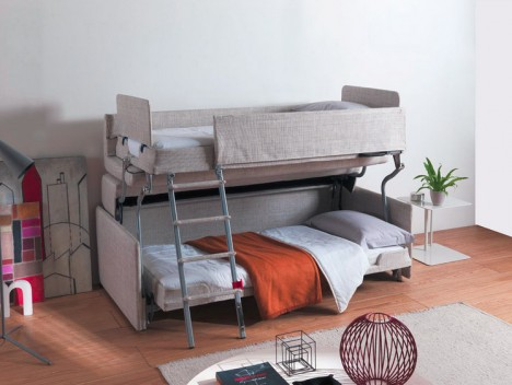 ... -Saving Sleepers: Sofas Convert to Bunk Beds in Seconds | Urbanist