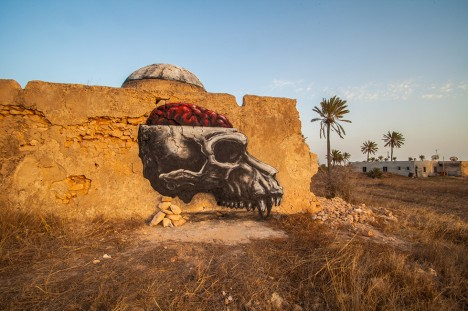roa animal skull dome