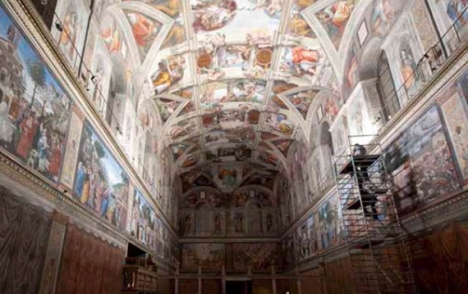 sistine chapel conversion project