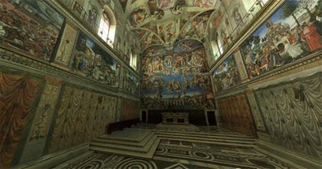sistine chapel space
