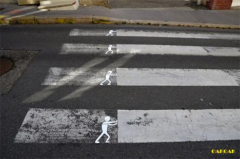 subtle street art oakoak3