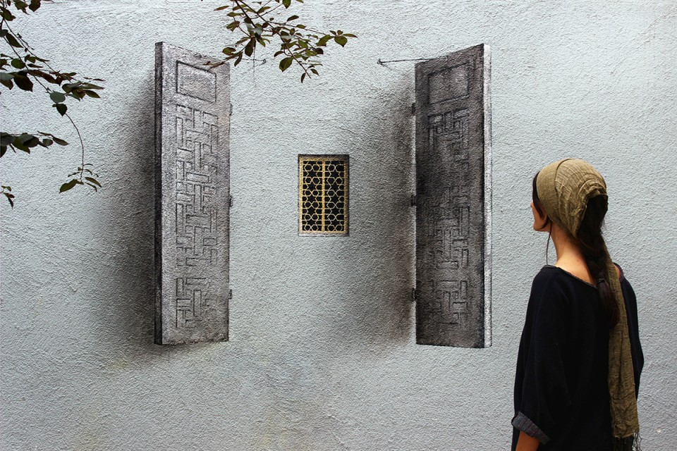 subtle street art pejac windows 1