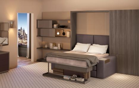 transforming hotel bedroom set