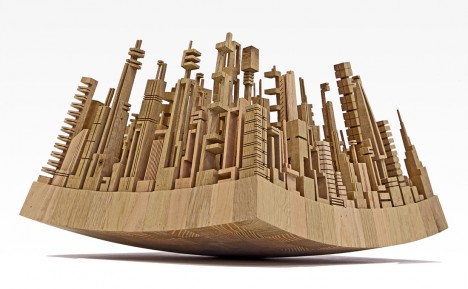 wood sculpture urban woodworking