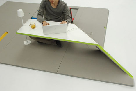Fold Out Flat Pack Mat