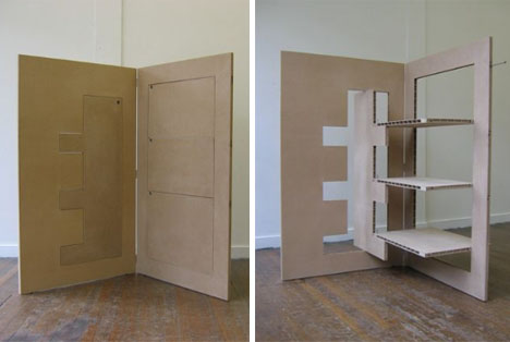 Fold Out Flat Pack Room Divider 2