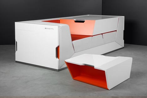 Fold Out Lounge in a Box 1