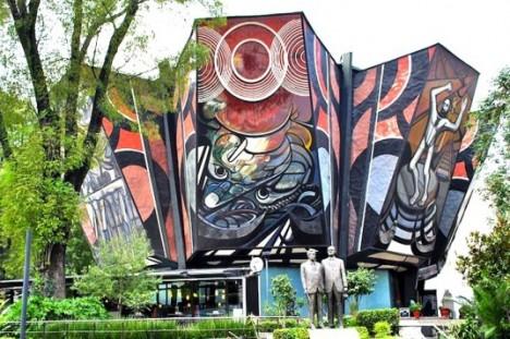 Large Murals Mexico Siqueiros 1
