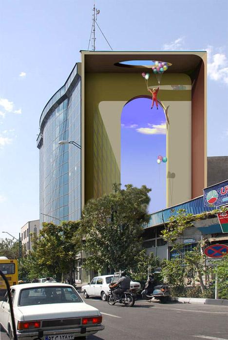 Large Murals Tehran 1