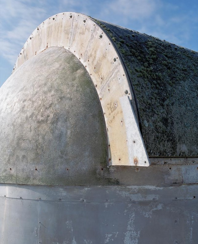 abandoned observatory dome exterior