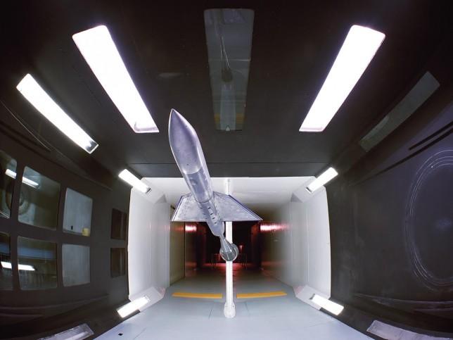 abandoned rocket room