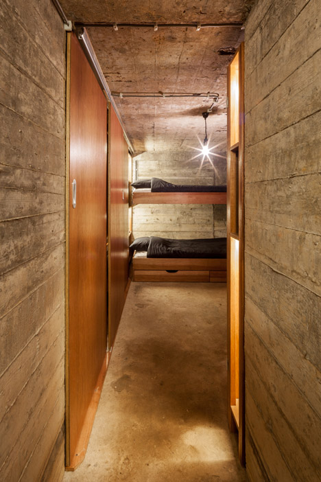 bunker bunk beds view