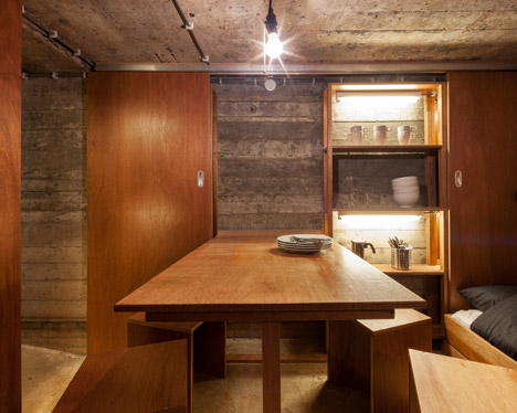 bunker dining room