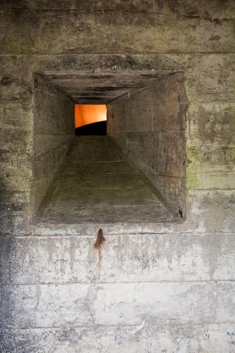 bunker house door detail