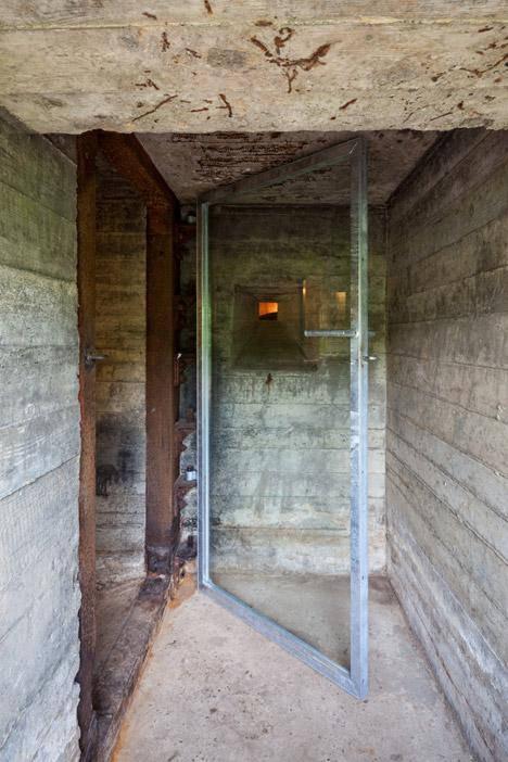 bunker house entry door