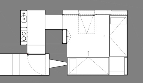 bunker house floor plan