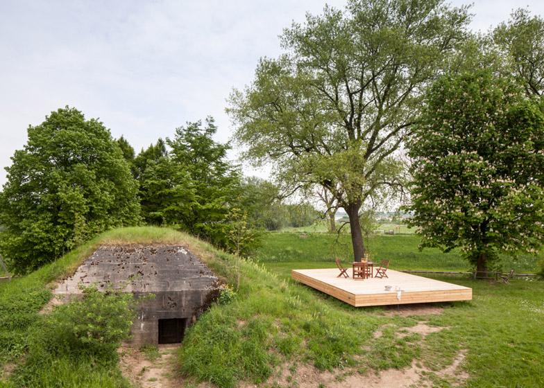 bunker house underground design