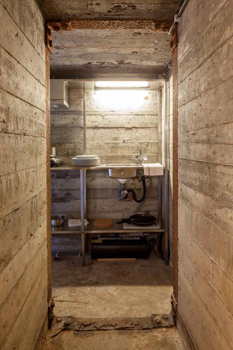 bunker kitchen