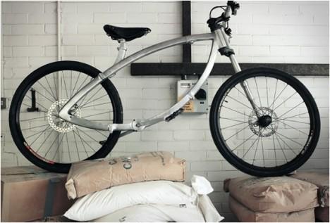 contortionist folding bike 1