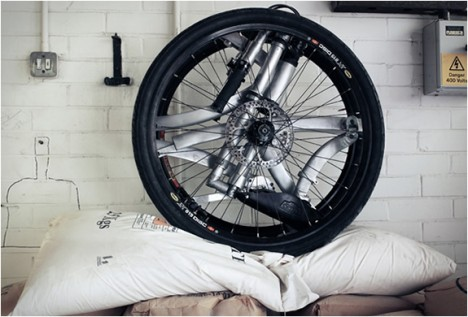 contortionist folding bike 2