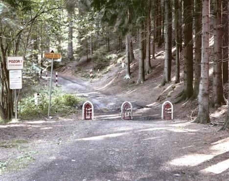deserted border marked creepy
