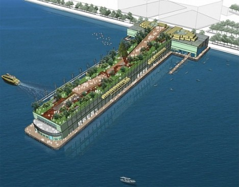 floating LOT-EK Pier 57 1