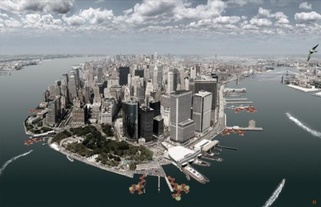 floating docking station nyc 2