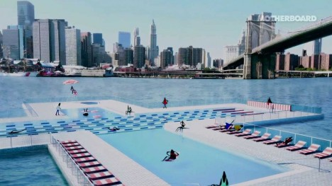 The 6th borough 9 river based proposals for new york city for Pool design names