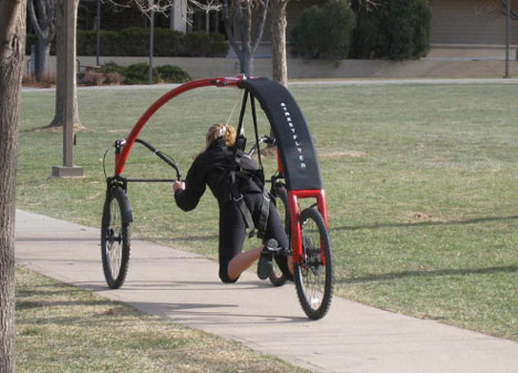 futuristic streetflyer bicycle 2