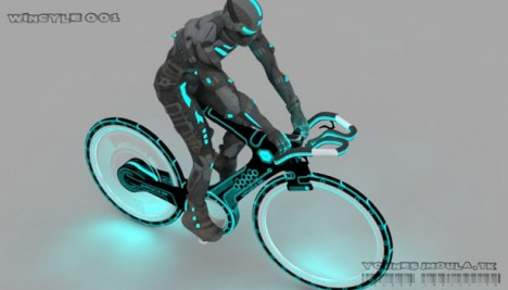 futuristic wincycle