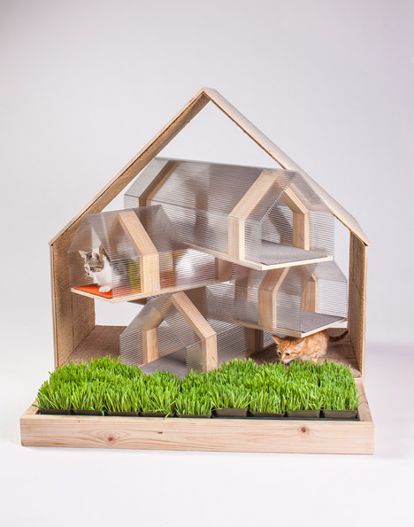 Lehrer architects office design Modern If You Also Enjoy Supporting Canines It Is Well Worth Checking Out These 14 Architectdesigned Doghouses Likewise Built To Support Charitable Purpose Arcatecture 12 Cat Homes Created By Architects For Charity Urbanist