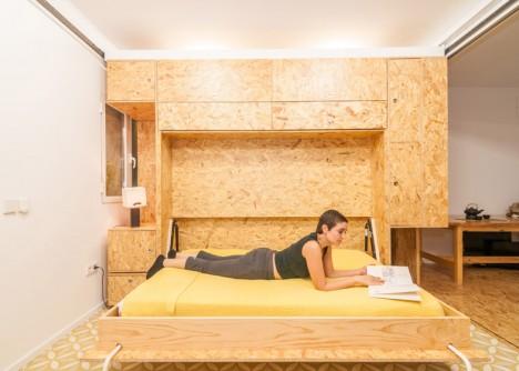 modular murphy folding bed