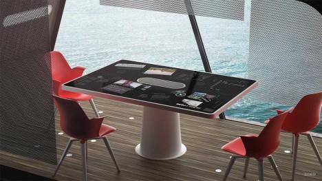 modular office interior board