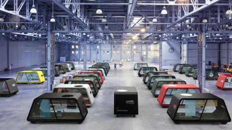 modular office warehouse cars
