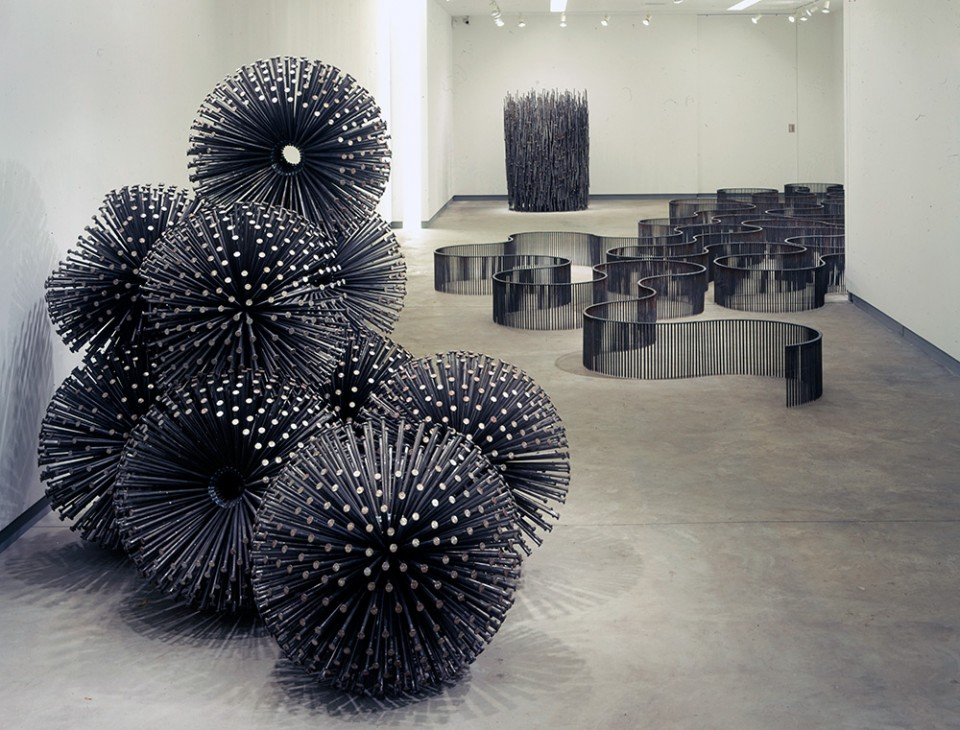 So Metal Intricate Sculptures Made Of Nothing But Nails