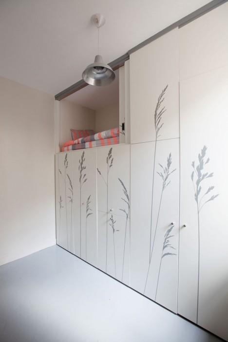 paris cabinet storage stairs
