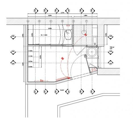 paris house plan diagram