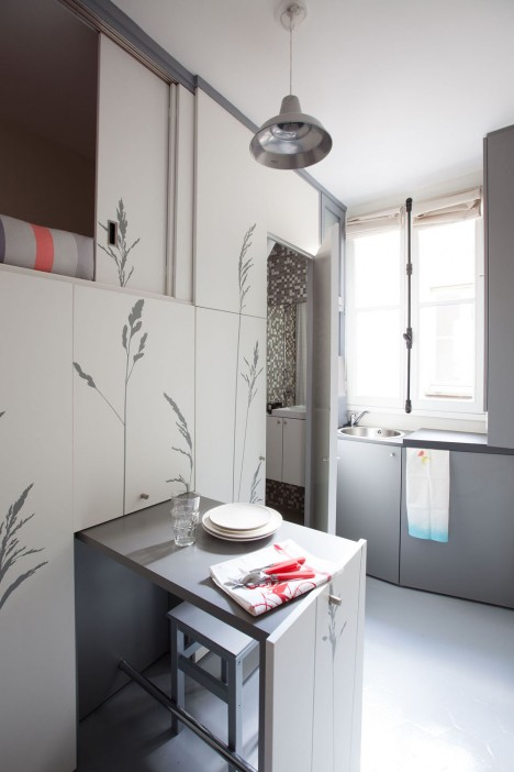 paris kitchen smal lview