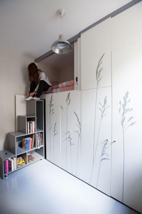 paris micro apartment home