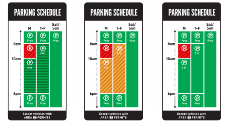 parking schedule test