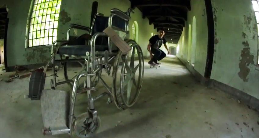 skateboard abandoned hospital 2