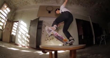 skateboard abandoned hospital 3